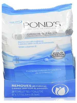 Pond's Moisture Clean Towelettes Original Freash