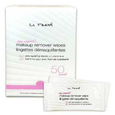 La Fresh Makeup Remover Waterproof Facial Towelettes